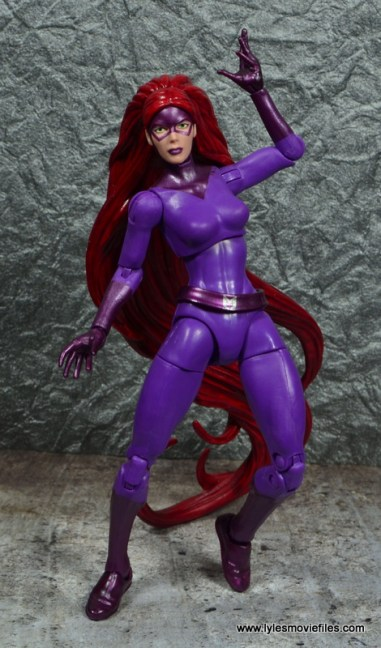 Marvel Legends Medusa figure review -front