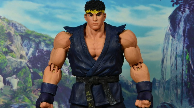 Storm Collectibles Street Fighter V Ryu figure review - wide pose