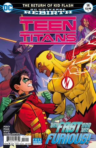 Teen Titans #14 cover