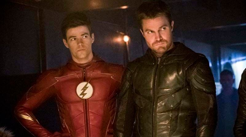 The Flash Crisis on Earth-X Part 3 review - Barry and Oliver