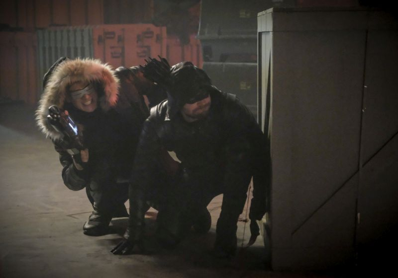 The Flash Crisis on Earth-X Part 3 review - Citizen Cold and Green Arrow