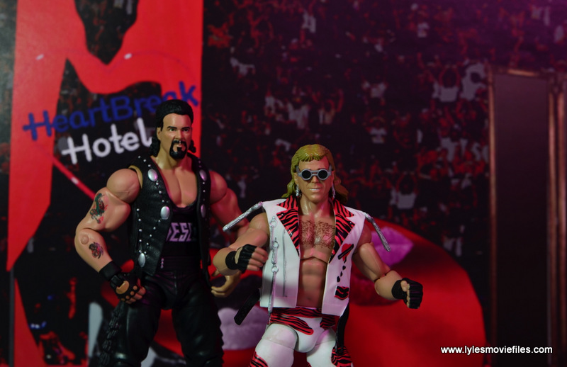 WWE Elite Hall of Fame Diesel figure review -at Heartbreak Hotel with Shawn Michaels