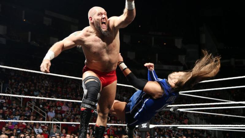 WWE NXT TakeOver: War Games - Lars Sullivan vs Kassius Ohno