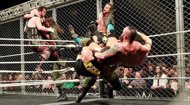 WWE NXT TakeOver War Games - War Games -- Sanity vs Undisputed Era vs Authors of Pain and Strong