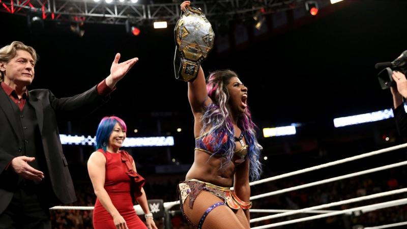 WWE NXT TakeOver War Games - William Regal, Asuka and Ember Moon