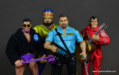 WWE Survivor Series Teams - 1989 The Model, Akeem, Big Boss Man and Honky Tonk Man