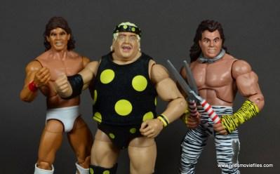 WWE Survivor Series Teams - 1989 Tito Santana, Dusty Rhodes and Brutus Beefcake