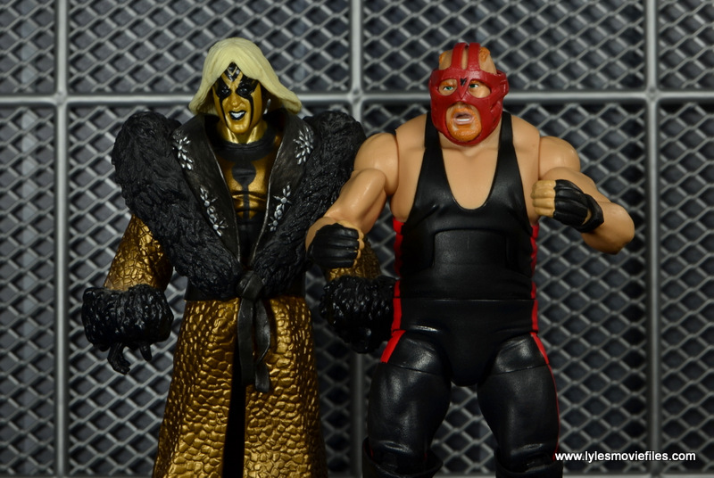 every wwe survivor series team in figure form