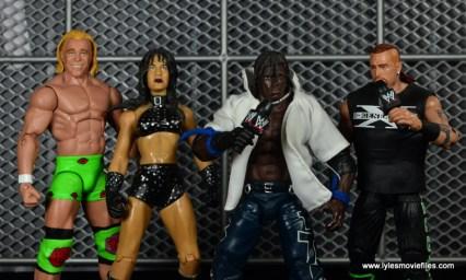 WWE Survivor Series Teams -2000 Billy Gunn, Chyna, K-Kwik and Road Dogg