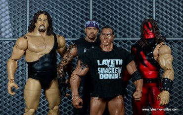 WWE Survivor Series Teams -2001 Team WWF The Big Show, The Undertaker, The Rock and Kane