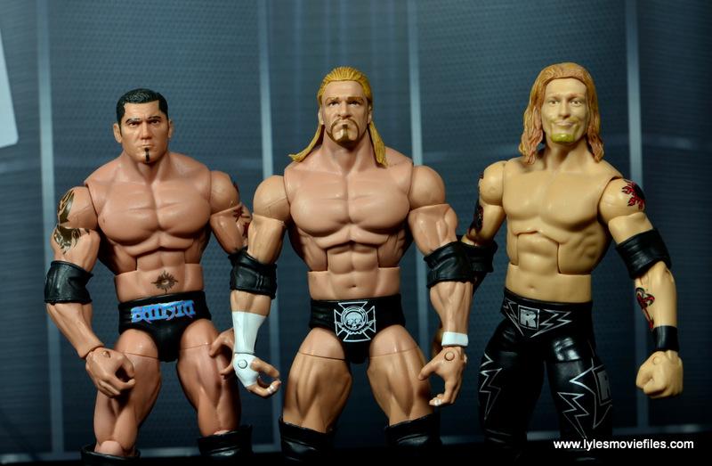 WWE Survivor Series Teams -2004 Batista, Triple H and Edge