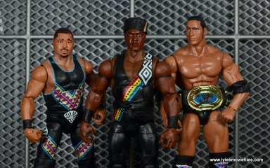 WWE Survivor Series Teams -Nation of Domination D-Lo Brown, Farooq and The Rock