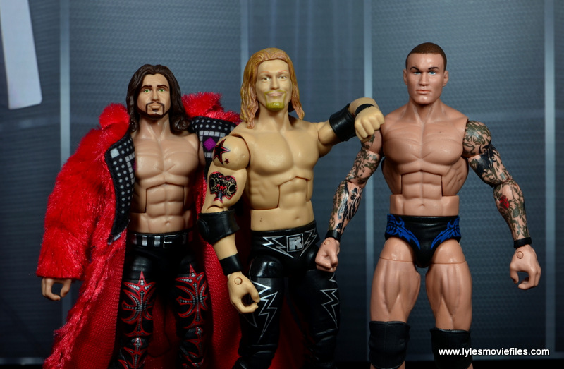 WWE Survivor Series Teams -Team Rated-RKO Johnny Nitro, Edge and Randy Orton