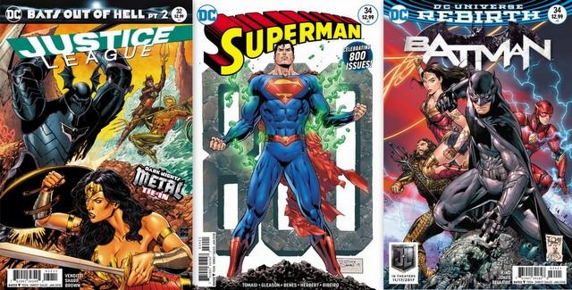 DC Comics reviews for 11/1/17
