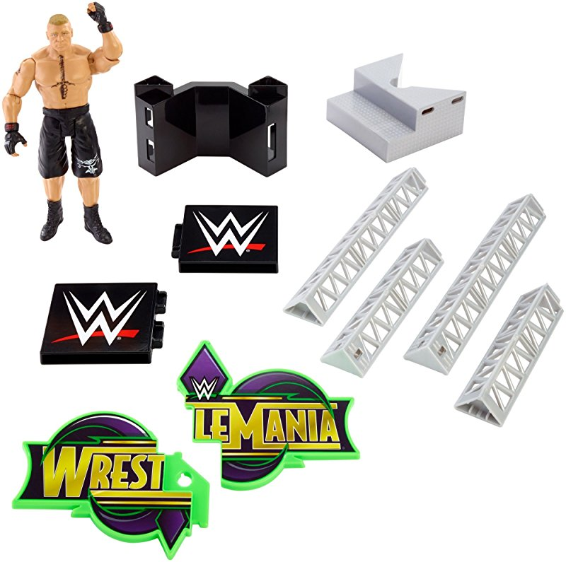 WrestleMania Build Set Parts