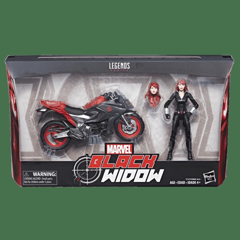 Marvel Legends riders Black Widow