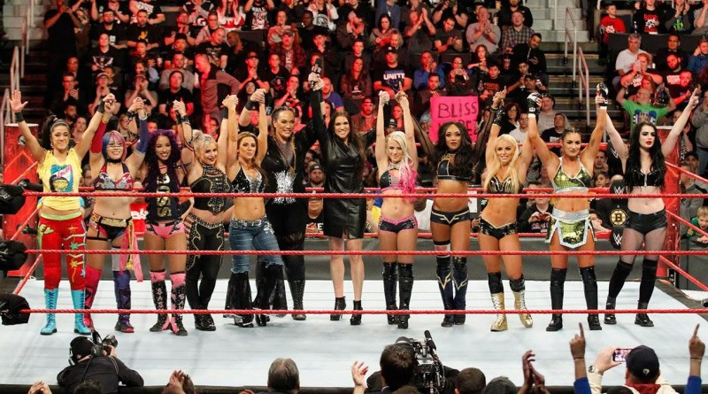 Stephanie McMahon and Raw women's roster