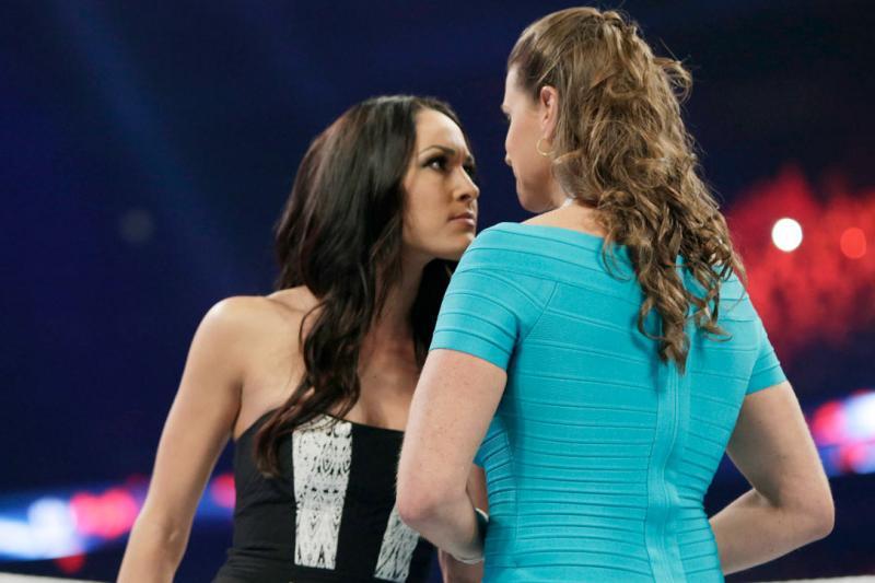 Brie Bella and Stephanie McMahon