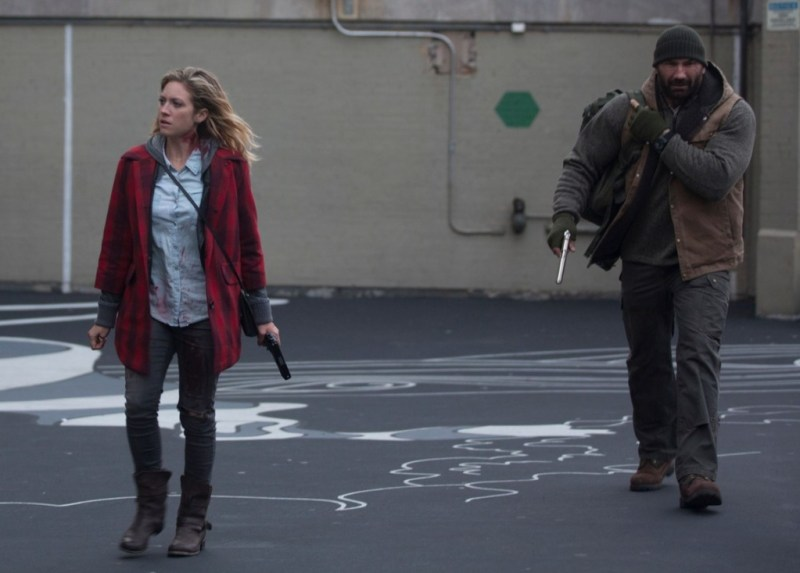 Bushwick - Brittany Snow and Dave Bautista