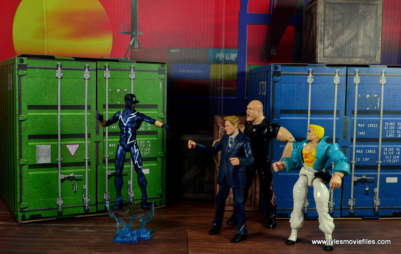 DC Icons Static figure review -battle at the pier