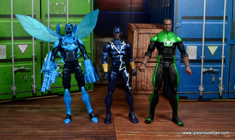 DC Icons Static figure review -scale with Blue Beetle and John Stewart