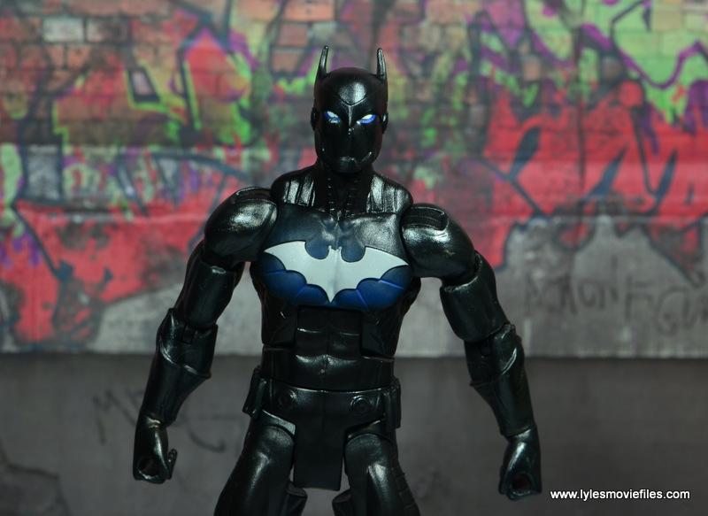 DC Multiverse Batwing figure review - closeup