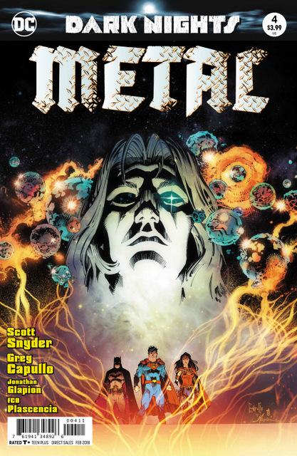 Dark Nights Metal #4 cover