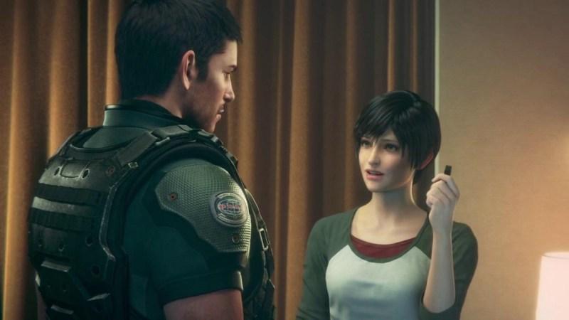 Resident Evil Vendetta review -Chris and Rebecca