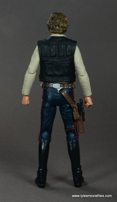 SH Figuarts Han Solo figure review -rear