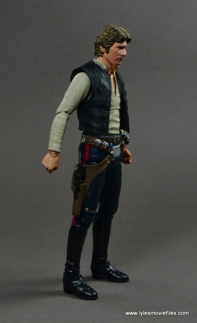 SH Figuarts Han Solo figure review -right side