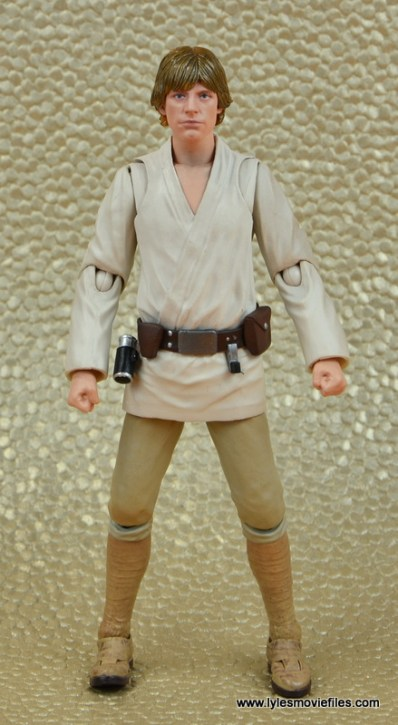 SH Figuarts Luke Skywalker figure review -front