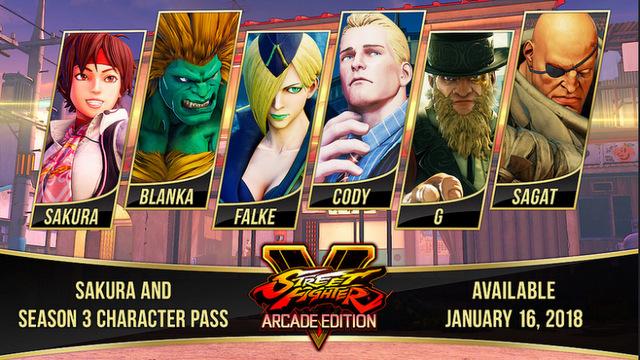 Street Fighter V Season 3 Arcade Edition
