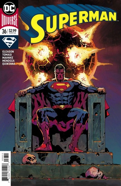 Superman #36 cover