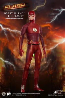 The Flash Real Master Series figure -hero pose