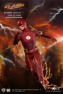 The Flash Real Master Series figure -running