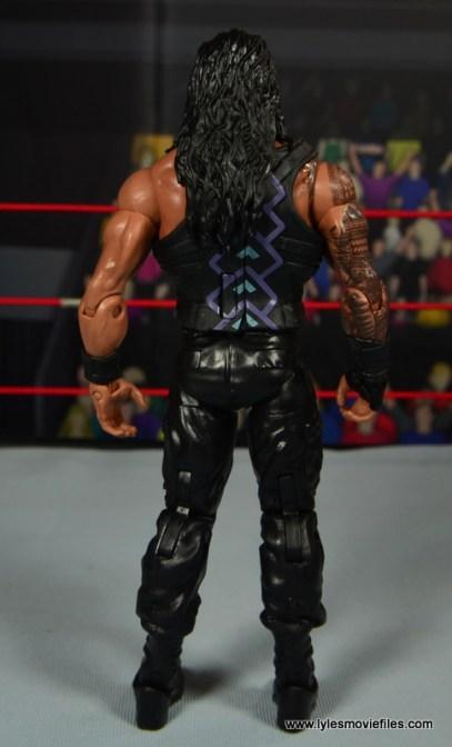 WWE Elite 45 Roman Reigns figure review - rear