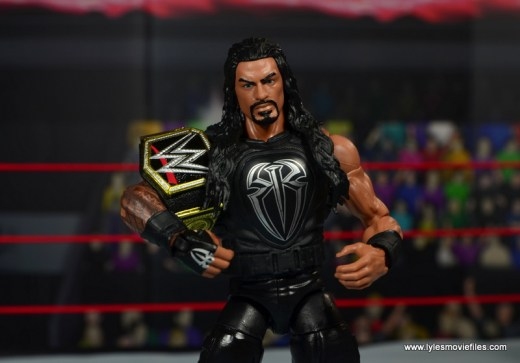 WWE Elite 45 Roman Reigns figure review - with WWE title