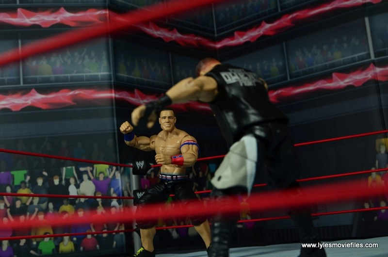 WWE Elite 50 John Cena figure review -face off with Owens