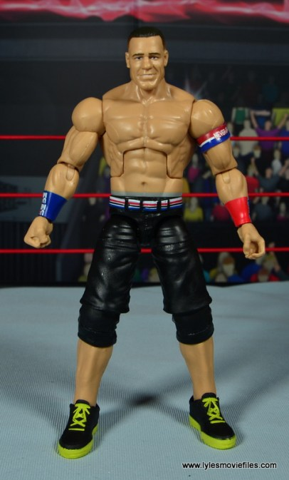 WWE Elite 50 John Cena figure review - front