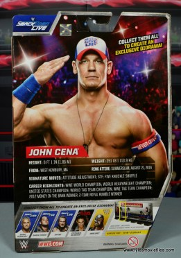 WWE Elite 50 John Cena figure review -package rear