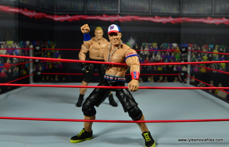 WWE Elite 50 John Cena figure review -ready to fight Lesnar