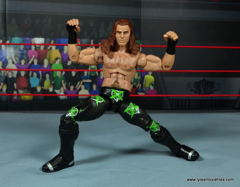 WWE Elite D-Generation X Shawn Michaels figure review - HBK pose