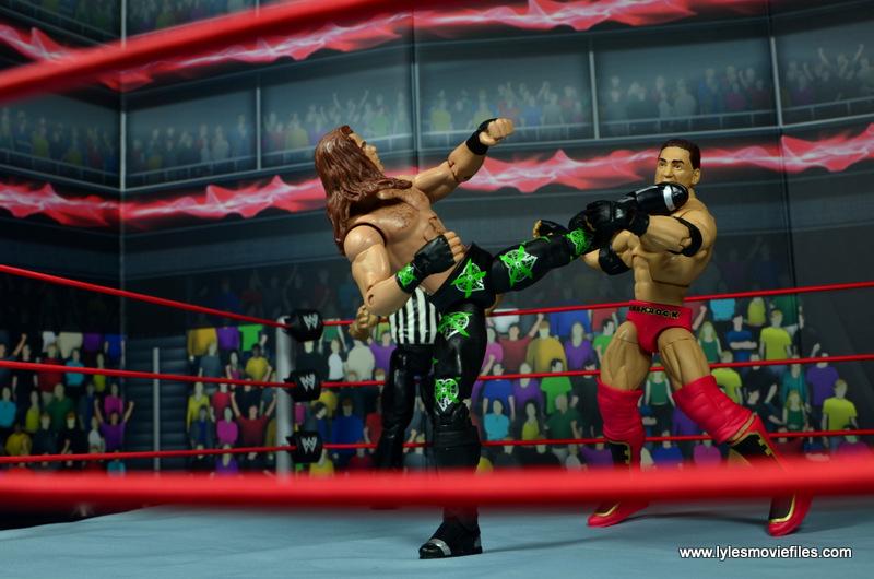 WWE Elite D-Generation X Shawn Michaels figure review - Sweet Chin Music to Shamrock