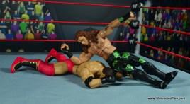 WWE Elite D-Generation X Shawn Michaels figure review - elbowdrop to Shamrock