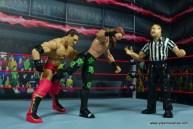 WWE Elite D-Generation X Shawn Michaels figure review - low blow to Shamrock