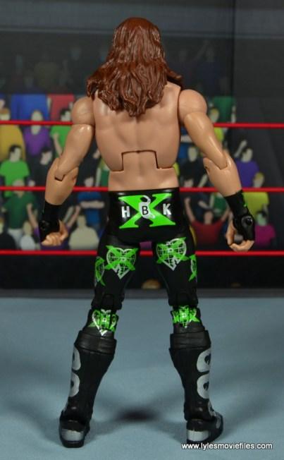 WWE Elite D-Generation X Shawn Michaels figure review - rear