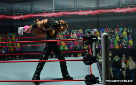 WWE Elite Hall of Fame Diesel figure review -snake eyes to Bret Hart