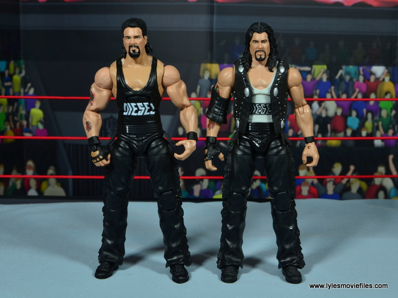 WWE Elite Hall of Fame Diesel figure review -with Elite 16 Diesel