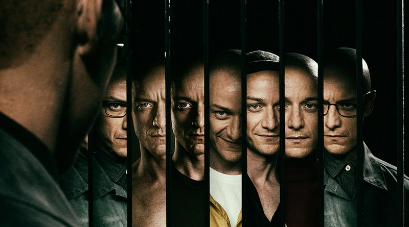 split movie review - kevin and his personalities