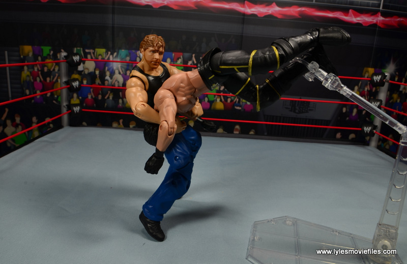 wwe network spotlight dean ambrose figure review -dirty deeds to seth rollins